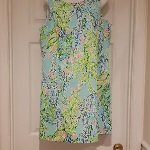Lilly Pulitzer Shift in Blue Heaven